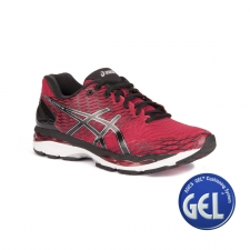 Asics Gel-Nimbus 18 Racing Red Black Silver Hombre