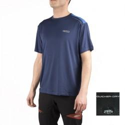 +8000 Camiseta Sallent Azul Abyss Hombre