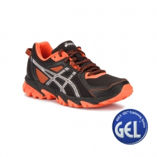 Asics Gel Sonoma 2 Black Silver Flame Orange