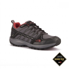 The North Face Zapatilla Litewave Explore GTX Gris Rojo