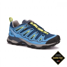 Salomon Zapatilla X Ultra 2 GTX Midnight Blue Process Blue Hombre