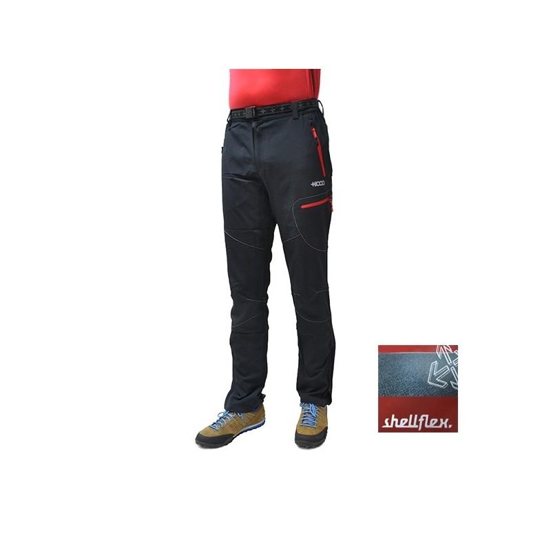 +8000 Pantalón Furco Negro Rojo Hombre