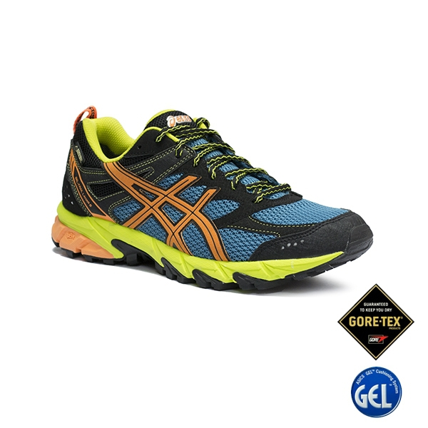 Asics Gel Trail Lahar 6 GTX Lake Blue Orange Black
