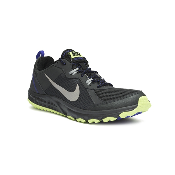 on sale a711f 4a741 Nike Wild Trail Gris Azul Verde