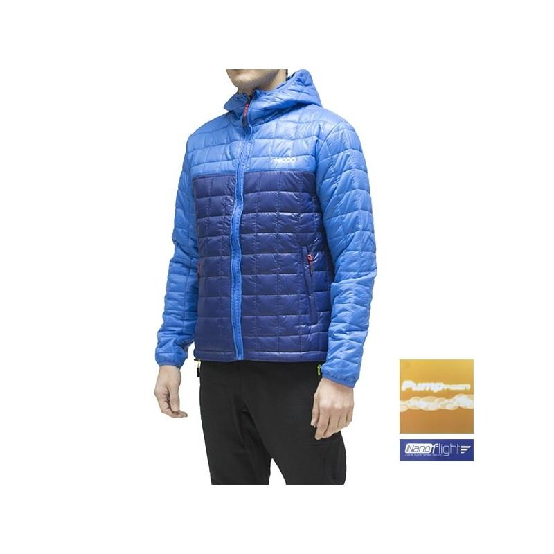 +8000 Chaqueta fibras Pirineo BI SR Azul Abyss Hombre