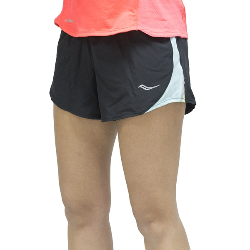 411240bbc Saucony Pantalón corto Run Lux III Short Mujer