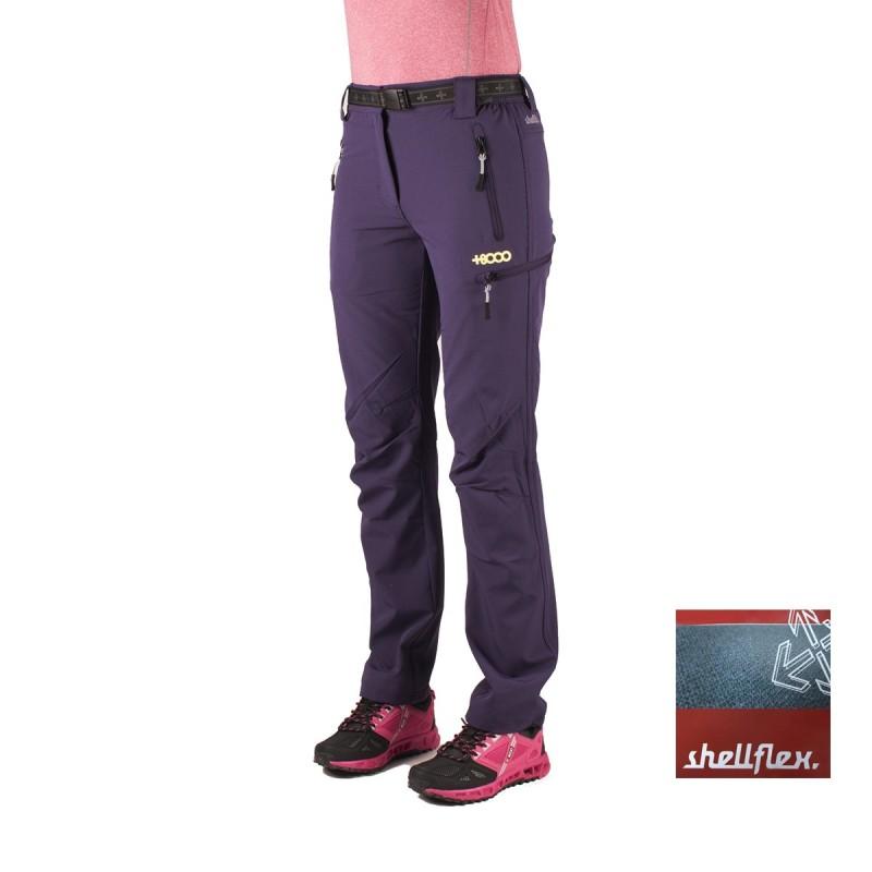 +8000 Pantalón Montcalm 16V Berenjena Mujer