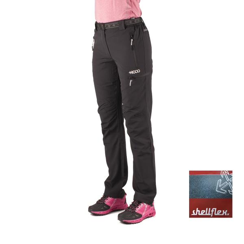 +8000 Pantalón Montcalm 16V Negro Mujer