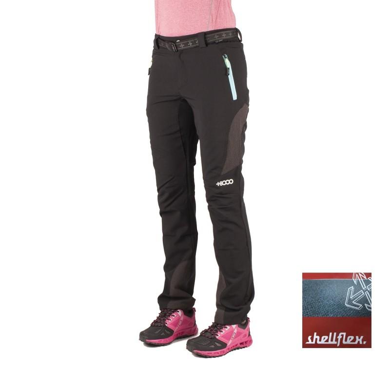 +8000 Pantalón Forca 16V Negro Mujer