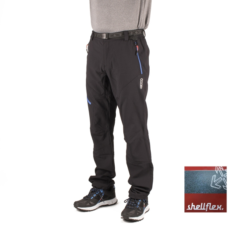 +8000 Pantalón Truebano 16V Negro Hombre