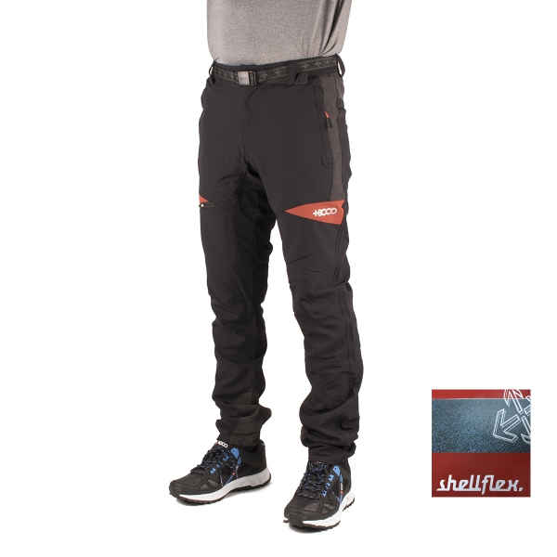 +8000 Pantalón Anayet 16V Negro Hombre