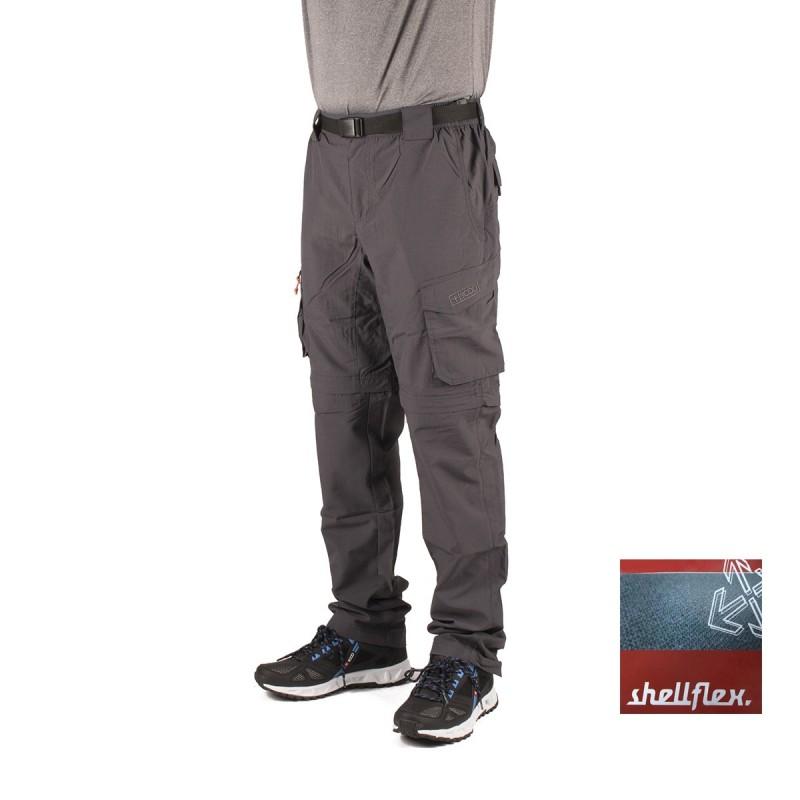 +8000 Pantalón Desmontable Navarino 16V Antracita Hombre
