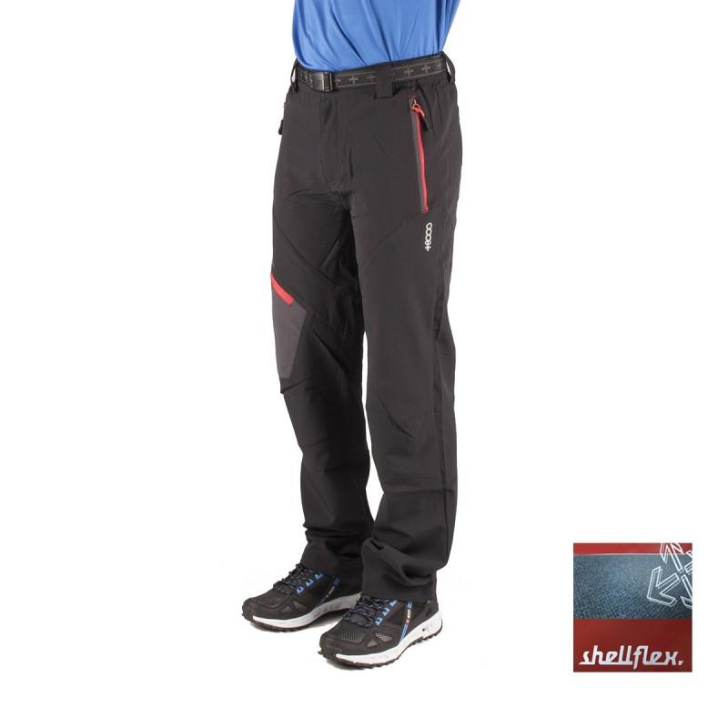 +8000 Pantalón Truebano JR 15V Negro Rojo Niño