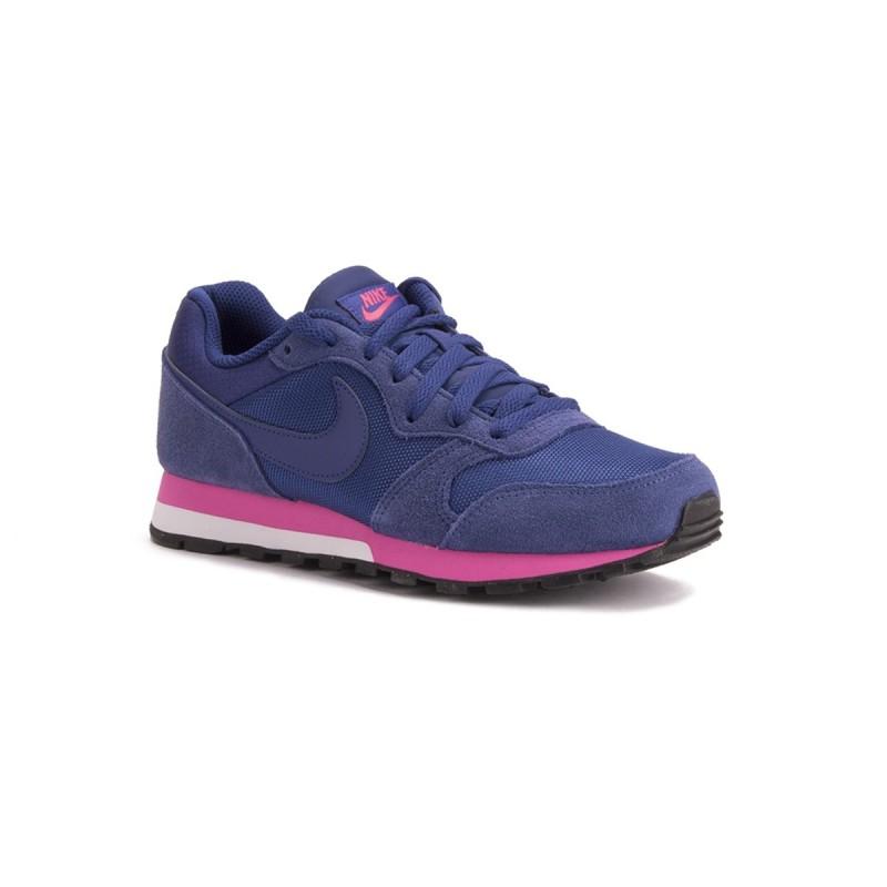 Nike MD Runner 2 Azul Rosa Mujer f15f2867d5ae4