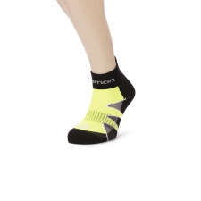 Salomon Calcetin CityTrail Fluor Yellow Black White
