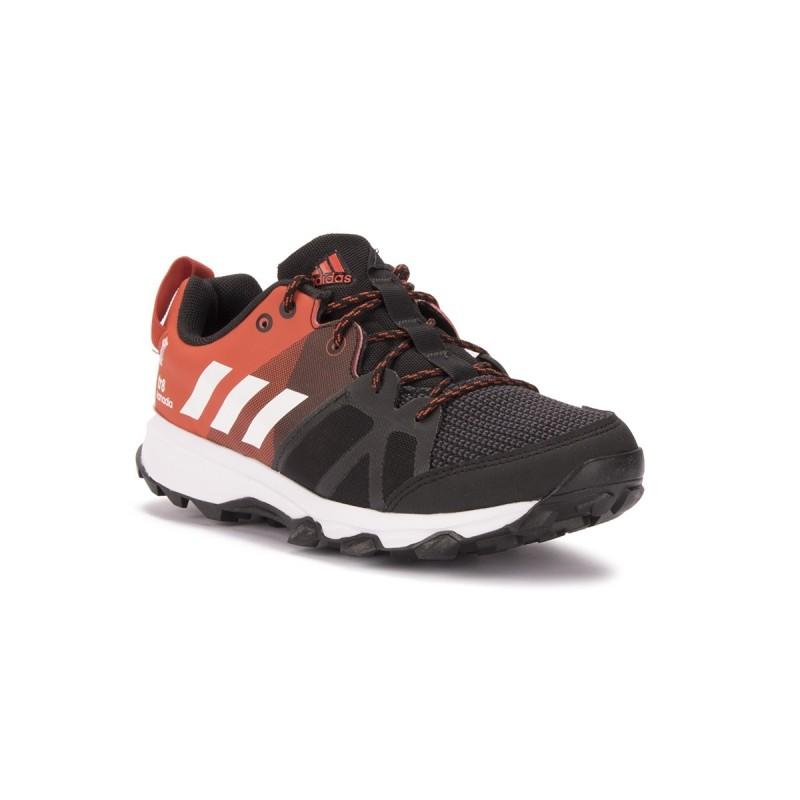 Adidas Kanadia 8 K Negro Rojo Niño