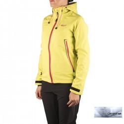 +8000 Softshell Cauca 16I Verde Fluor Mujer