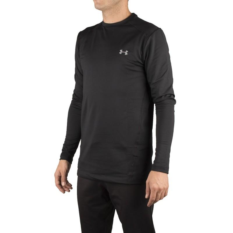 c1eb512390f49 Under Armour Camiseta Ceñida Negra Hombre