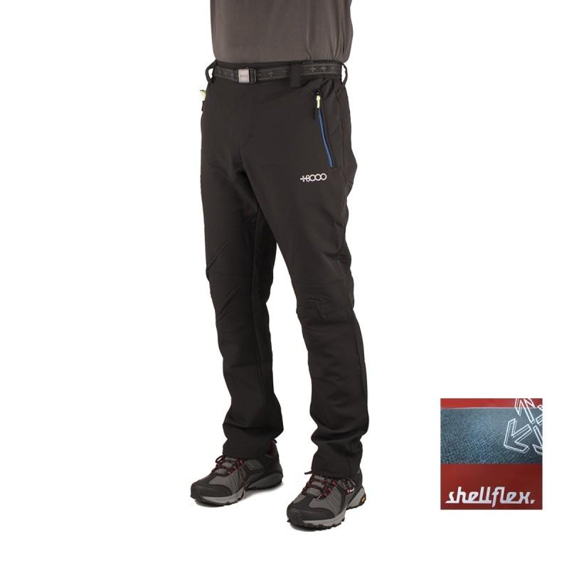+8000 Pantalón Monegros 16I Negro Hombre