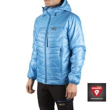Millet Primaloft Belay Hoodie Electric Blue Hombre