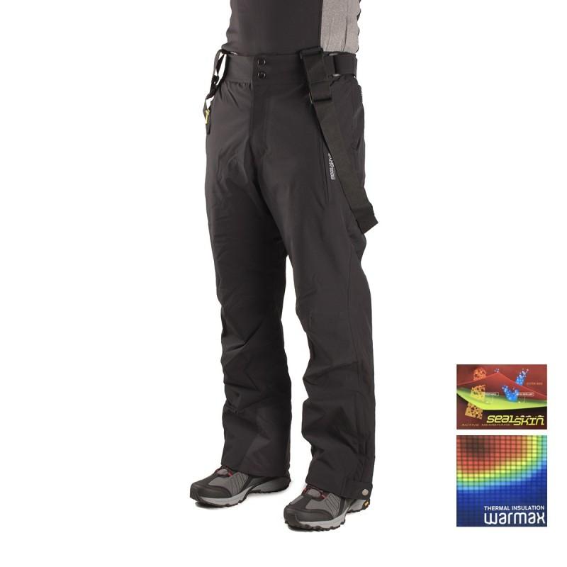 +8000 Pantalón Esquí Chalten 16I Negro Hombre