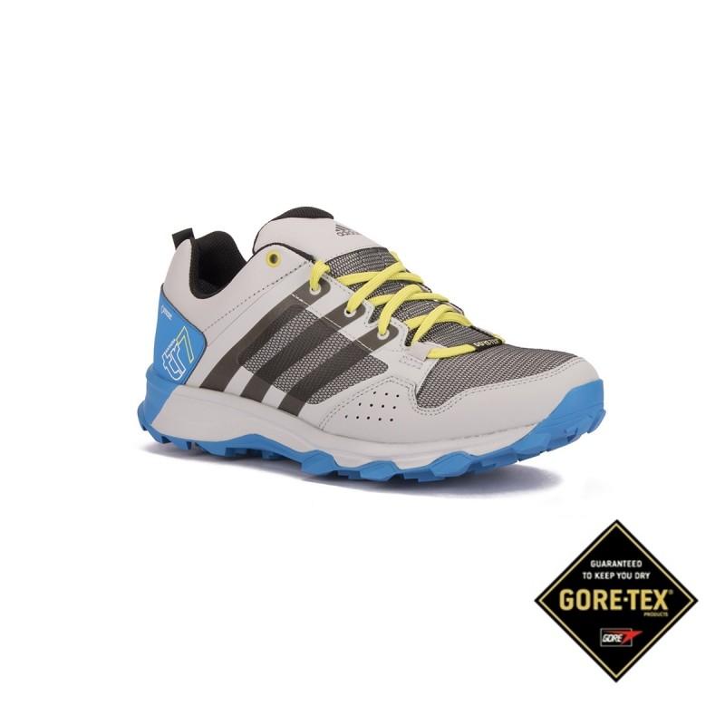 finest selection 66e1a b0a12 Adidas Kanadia 7 Tr GTX Clonix CBlack Shoblu Hombre