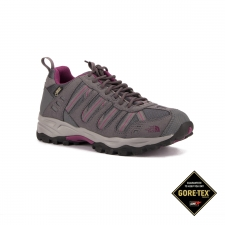 The North Face Zapatilla W Sakura GTX Gris Rosa