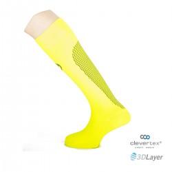 Sportlast calcetin running amarillo neon negro