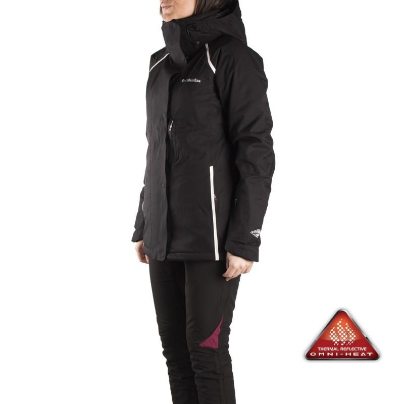 Chaqueta esqui mujer negra