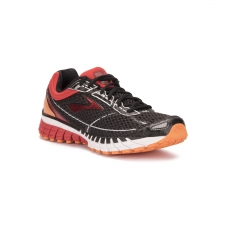 Brooks Aduro 4 Black High Risk Red Vibrant Orange