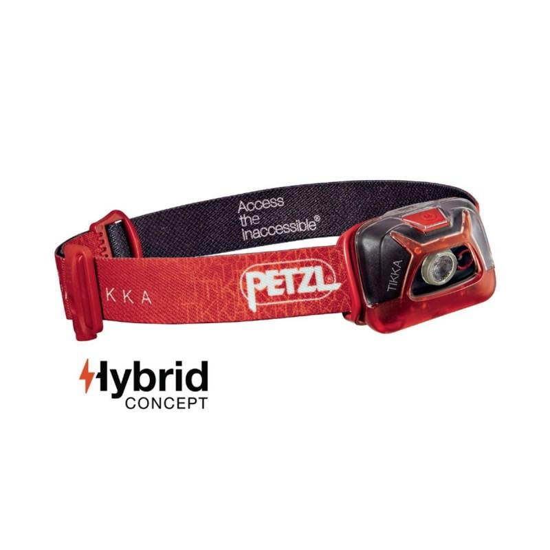 Petzl Frontal Tikka 200 Rojo