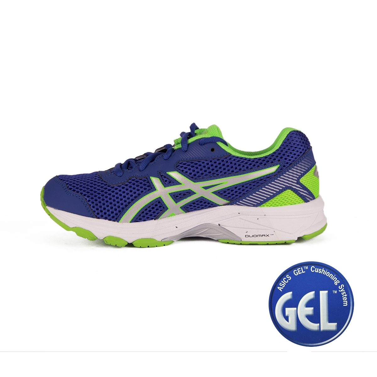 Asics GT-1000 5 GS Blue White Green Gecko Niño
