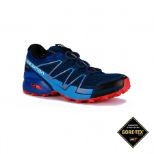 Salomon Zapatilla Speedcross Vario GTX Blue Depth Blue Yonder Lava Orange Hombre