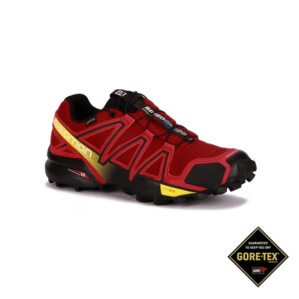 Salomon Zapatilla Speedcross 4 GTX Brique-x Radiant Red Hombre