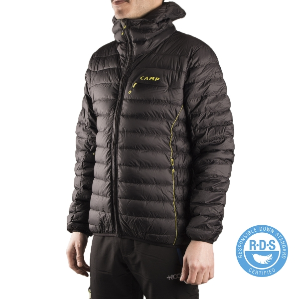 new products fb1c6 c5c0a Camp Plumas Ed Protection Jacket Nero Negro Hombre