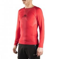 Kripton camiseta térmica Pyros Rojo Hombre