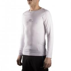 Kripton camiseta térmica Pyros Blanco Hombre