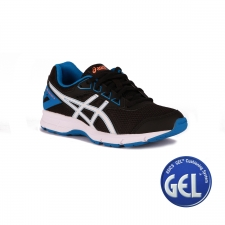 Asics Gel Galaxy 9 GS Black White Electric Blue