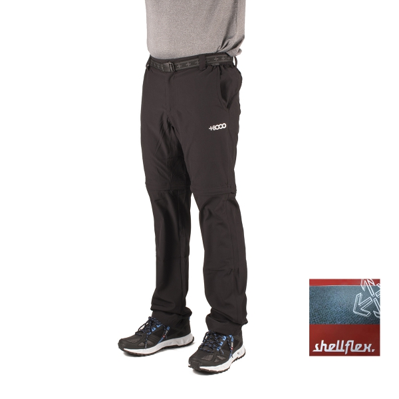 +8000 Pantalón Desmontable Torrebarrio 17V Negro Hombre