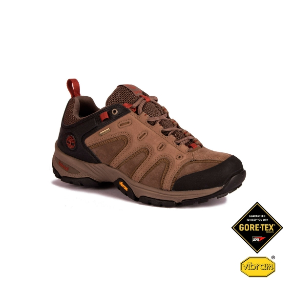 Hombre Light Timberland Gtx G Brown Low Zapatilla Ledge Lthr QBotsChrdx