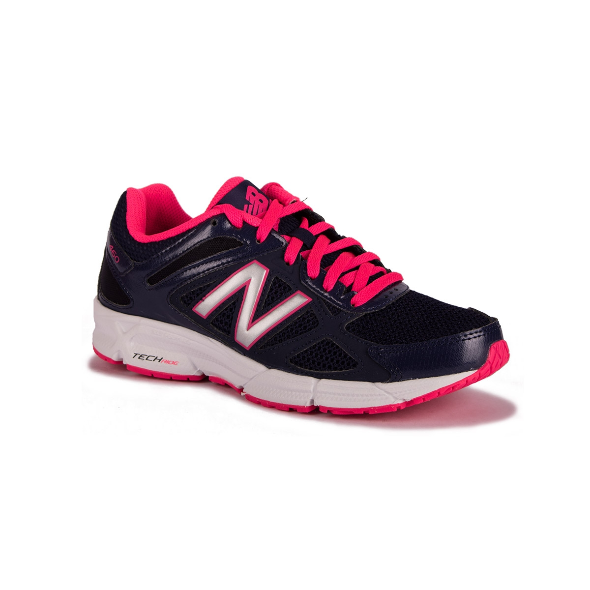 New Balance Zapatilla W460CP1 Running Course Azul Y Rosa Mujer