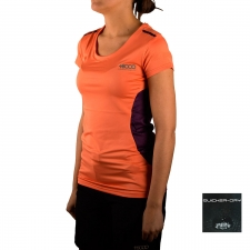 +8000 Camiseta Manaslu Coral Mujer