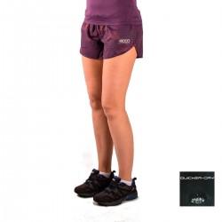 +8000 Pantalón corto Maou VI Morado Mujer