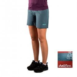+8000 Pantalón corto Tremaya 17V Gris Azulado Mujer