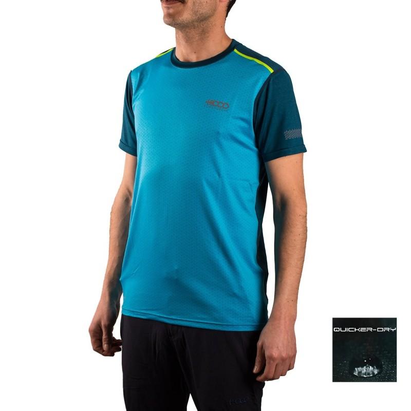 +8000 Camiseta Morron Turquesa Hombre
