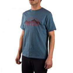 +8000 Camiseta Batu Azul Abyss Vigore Hombre