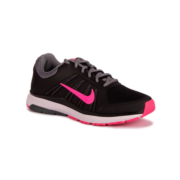 detailed pictures c4ed7 8a6b4 Nike Wmns Dart 12 Black Pink Blast Cool Grey Mujer