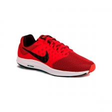 Nike Downshifter 7 University Red Black White Rojo Hombre