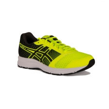 Asics Patriot 8 Safety Yellow Black White Hombre