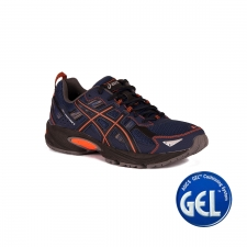 Asics Gel Venture 5 Indigo Blue Hot Orange Black